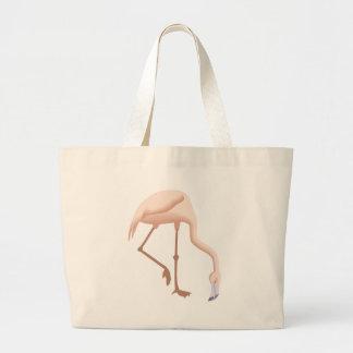 Grand Tote Bag flamant #11