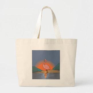 Grand Tote Bag flamant #14