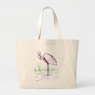 Grand Tote Bag flamant #16