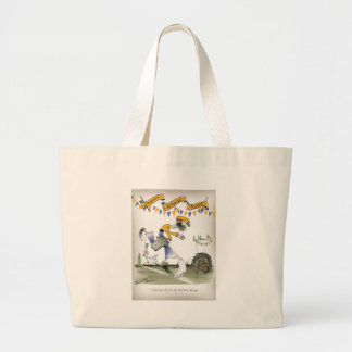 Grand Tote Bag footballer de droite du Brésil