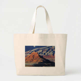 Grand Tote Bag formes naturelles du désert
