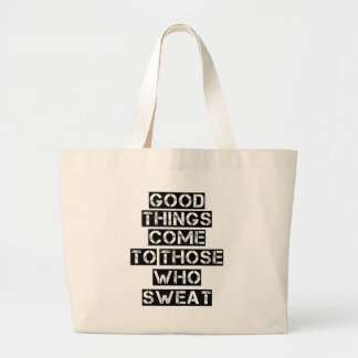 Grand Tote Bag Fourre-tout enorme pour le gymnase, citation de