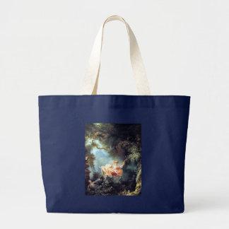Grand Tote Bag Fragonard la peinture de beaux-arts d'antiquité