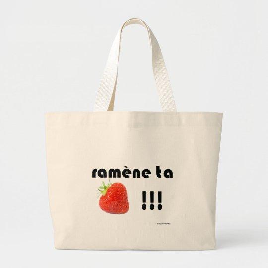 Grand Tote Bag fraise