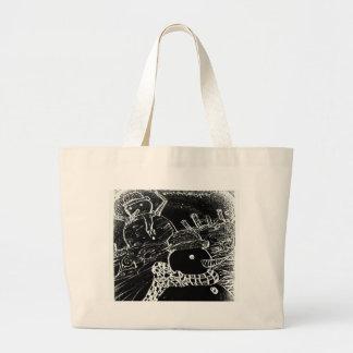Grand Tote Bag gardien de neige de yaie