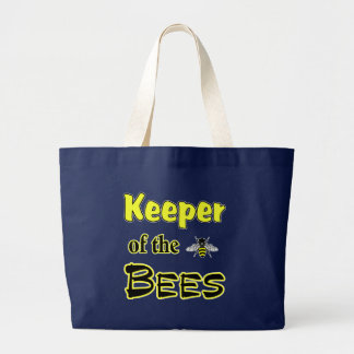 Grand Tote Bag gardien des abeilles foncées