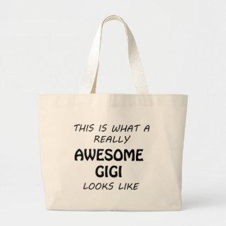 Grand Tote Bag Gigi impressionnant