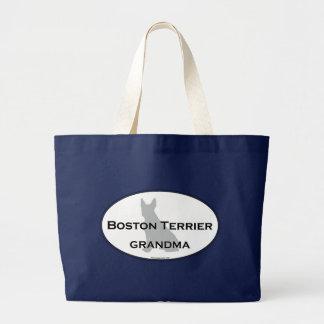 Grand Tote Bag Grand-maman de Boston Terrier