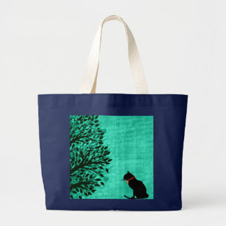 Grand Tote Bag Graphique enorme Fourre-tout de chat
