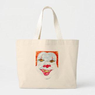 Grand Tote Bag Halloween Clown2 effrayant