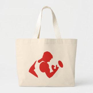 Grand Tote Bag Haltérophilie