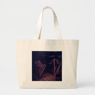 Grand Tote Bag Harpes dans l'ombre