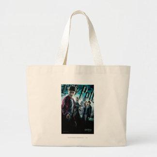 Grand Tote Bag Harry Potter avec Dumbledore Ron et Hermione 1