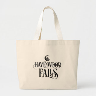 Grand Tote Bag Havenwood tombe signature - noir