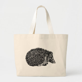 Grand Tote Bag Hérisson