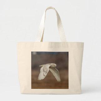 Grand Tote Bag Hibou de Milou en vol