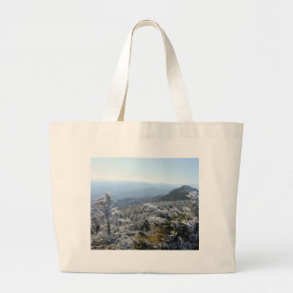 Grand Tote Bag Hiver de Blue Ridge Mountains