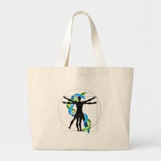 Grand Tote Bag Homme d'ADN Vitruvian