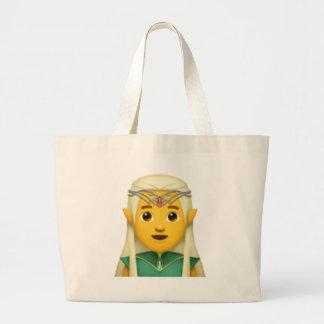 Grand Tote Bag Homme Elf - Emoji