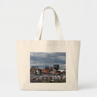 Grand Tote Bag Horizon de crépuscule de Baltimore