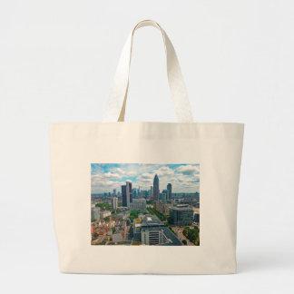 Grand Tote Bag Horizon de Francfort Allemagne