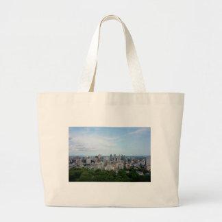 Grand Tote Bag Horizon de ville de Montréal