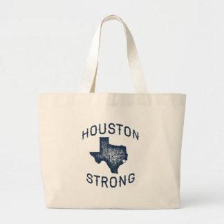 Grand Tote Bag Houston fort - soulagement d'inondation de Harvey
