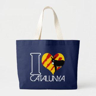 Grand Tote Bag I Love Catalunya