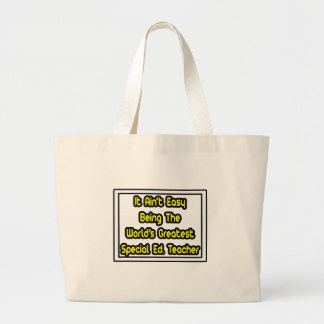 Grand Tote Bag Il Ed spécial… du monde facile d'Aint plus grand.