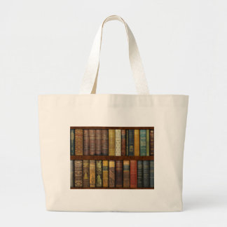Grand Tote Bag Instant Library Bookcase de Monsieur