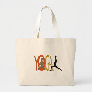 Grand Tote Bag Instructeur sportif de yoga de forme physique