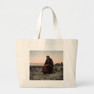 Grand Tote Bag Ivan Kramskoy- le Christ en beaux-arts de région