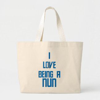 Grand Tote Bag J'aime être une nonne