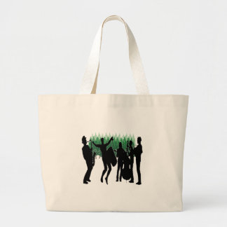 Grand Tote Bag Jazz sauvage