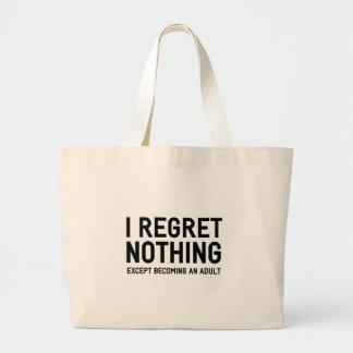 Grand Tote Bag Je ne regrette rien