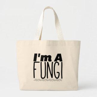 Grand Tote Bag Je suis des champignons