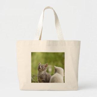 Grand Tote Bag Jeune nature animale sauvage curieuse animale de
