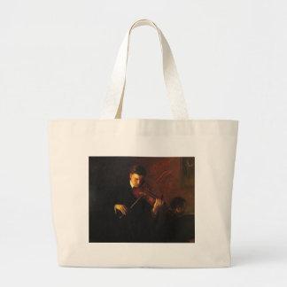 Grand Tote Bag Joueur de violon