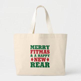 Grand Tote Bag Joyeux Fitmas