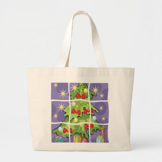 Grand Tote Bag Joyeux Noël
