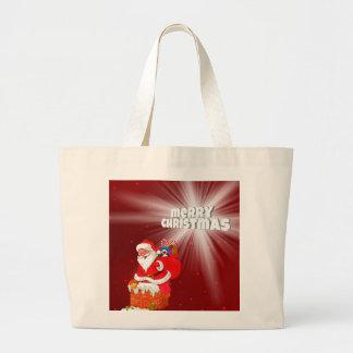 Grand Tote Bag Joyeux Noël