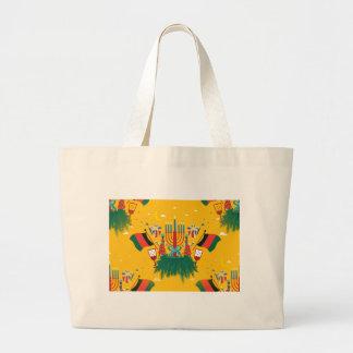Grand Tote Bag Kwanzaa jaune