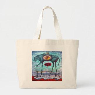 Grand Tote Bag La beauté est dans l'oeil du spectateur