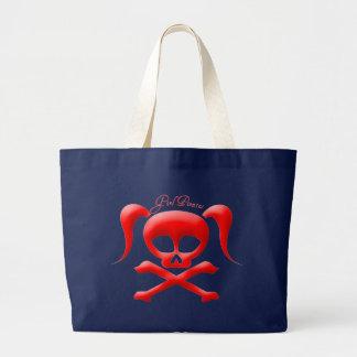 Grand Tote Bag La fille pirate Fourre-tout/sac à provisions