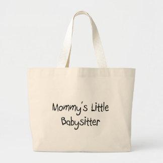 Grand Tote Bag La petite babysitter de la maman