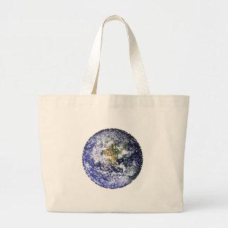 Grand Tote Bag la terre de cube
