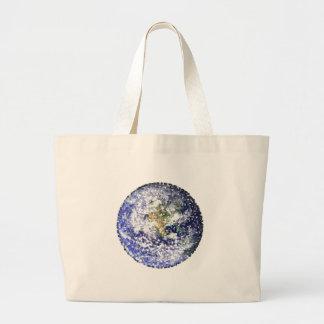 Grand Tote Bag la terre de feuille
