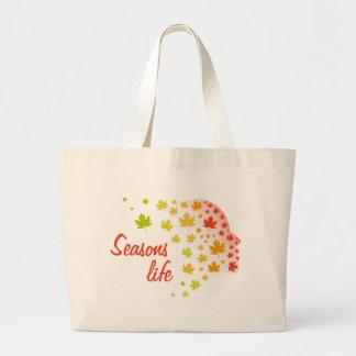 Grand Tote Bag La vie de saisons
