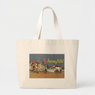 Grand Tote Bag La vie du Jersey