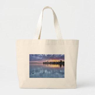 Grand Tote Bag la ville de Noël du Lac de Constance allume le
